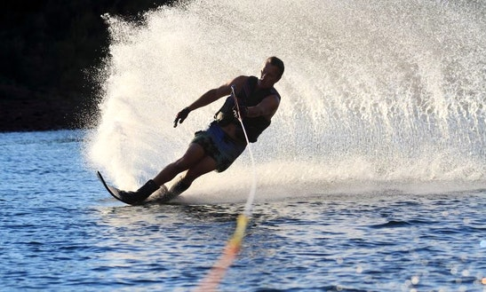 An Unforgettable Water Skiing Experience In Keramoti, Greece