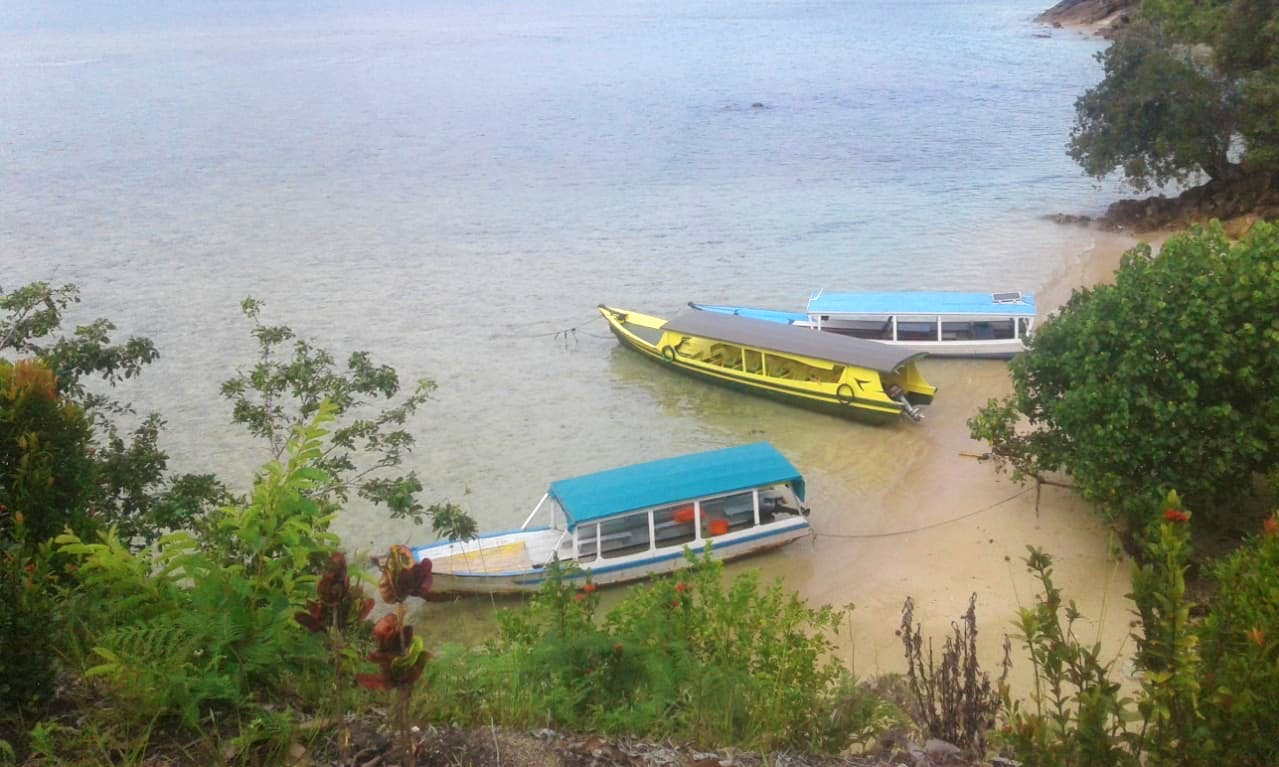 A wonderful fishing experience in Sumatra, Indonesia onboard cuddy cabin