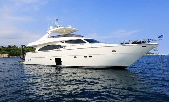 Motor Yacht Rental In Barcelona