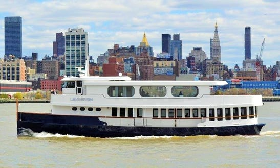 The Lexington - Luxury Party Yacht Rental In New York