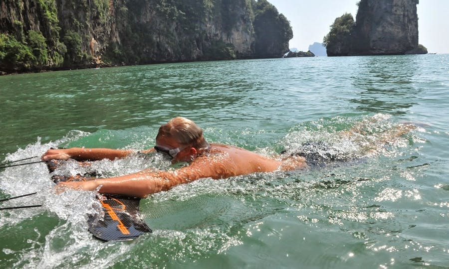 Action Packed Private Speedboat to Tortuga Island! Subwing, Snorkel, Wakeboard & More!