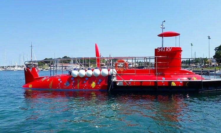 Enjoy Submarine Tours in Vrsar, Croatia