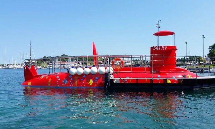 Enjoy Submarine Tours in Vrsar, Croatia
