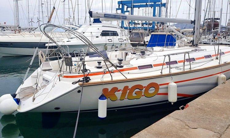 "Cruise along the coast of Rijeka, Croatia with this Bavaria 49""Kigo"" Cruising Monohull"