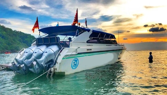 Visit Famous Island 6 In Rayong, Thailand By This Speedboat
