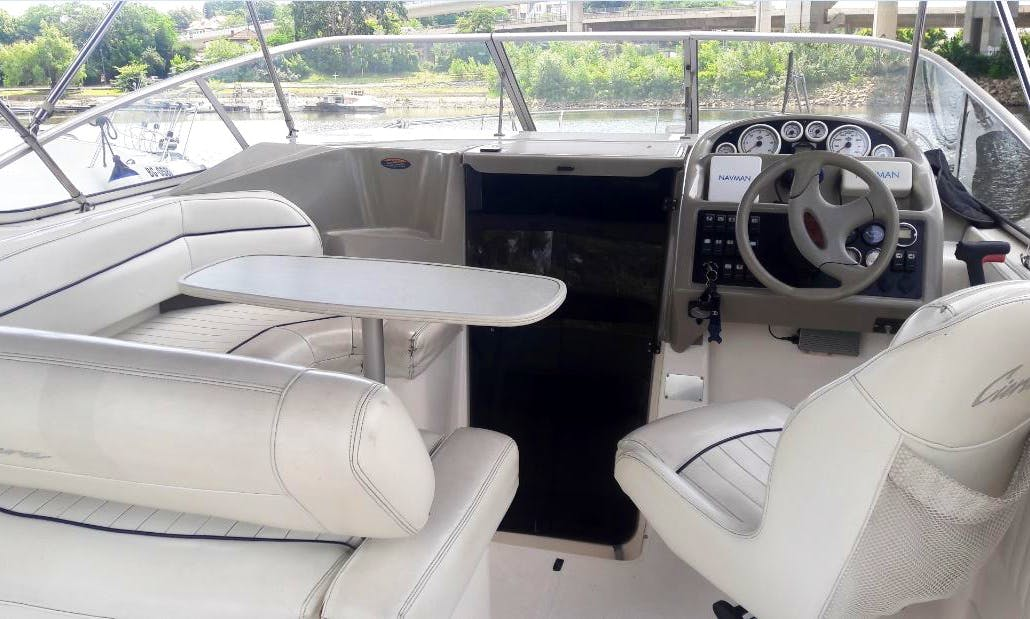 Bayliner Ciera 2855 rental in Belgrade - SPECIAL OFFER!