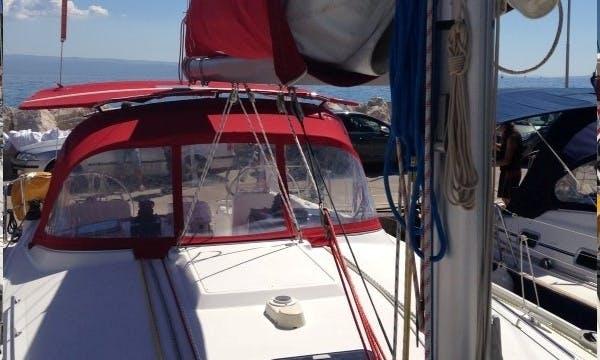 Sailboat rental in Split, Croatia - Beneteau Cyclades 43.3