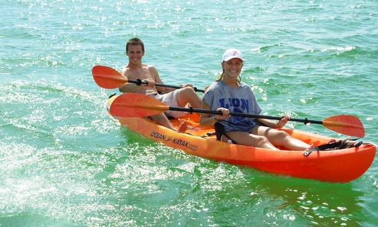 Tandem Kayak Rental In Palm Beach County