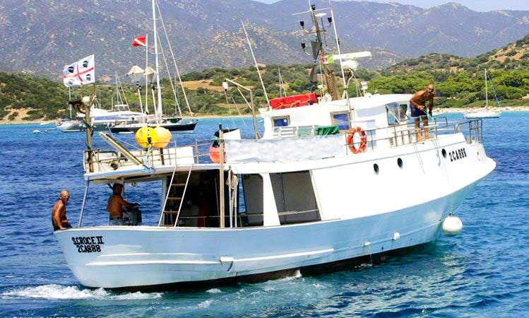 'S.Croce II' Fishing Tours in Villasimius