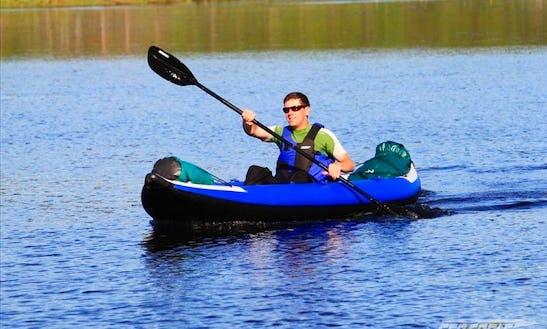 Rent A Single-person Explorer Inflatable Kayak In Happy Valley, Oregon