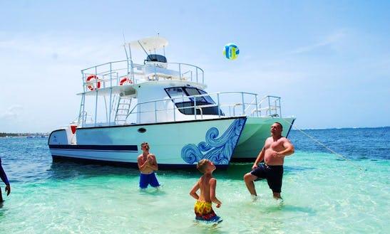 Shared Catamaran Rental In Punta Cana Vip