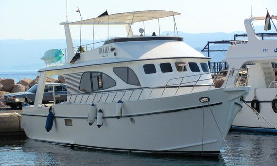 Full Day Diving Trip Aboard Barakah Motor Yacht In Aqaba, Jordan