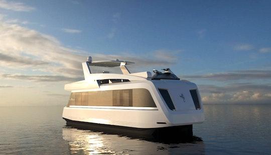Stunning Overblue 46' Power Catamaran For Perfect Cruising In Phuket, Thailand