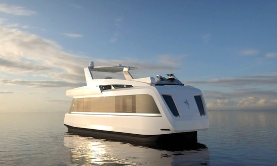 Stunning Overblue 46' Power Catamaran For Perfect Cruising In Phuket, Thailand