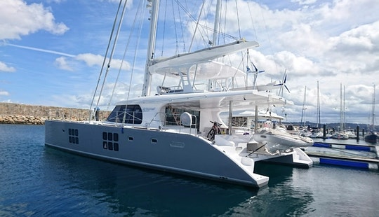 Have An Amazing Time In Phuket, Thailand On-board 60' Sunreef Cruising Catamaran