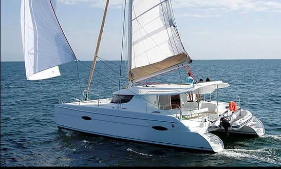 Have Fun Sailing In Phuket, Thailand Aboard Lipari 41 Cruising Catamaran