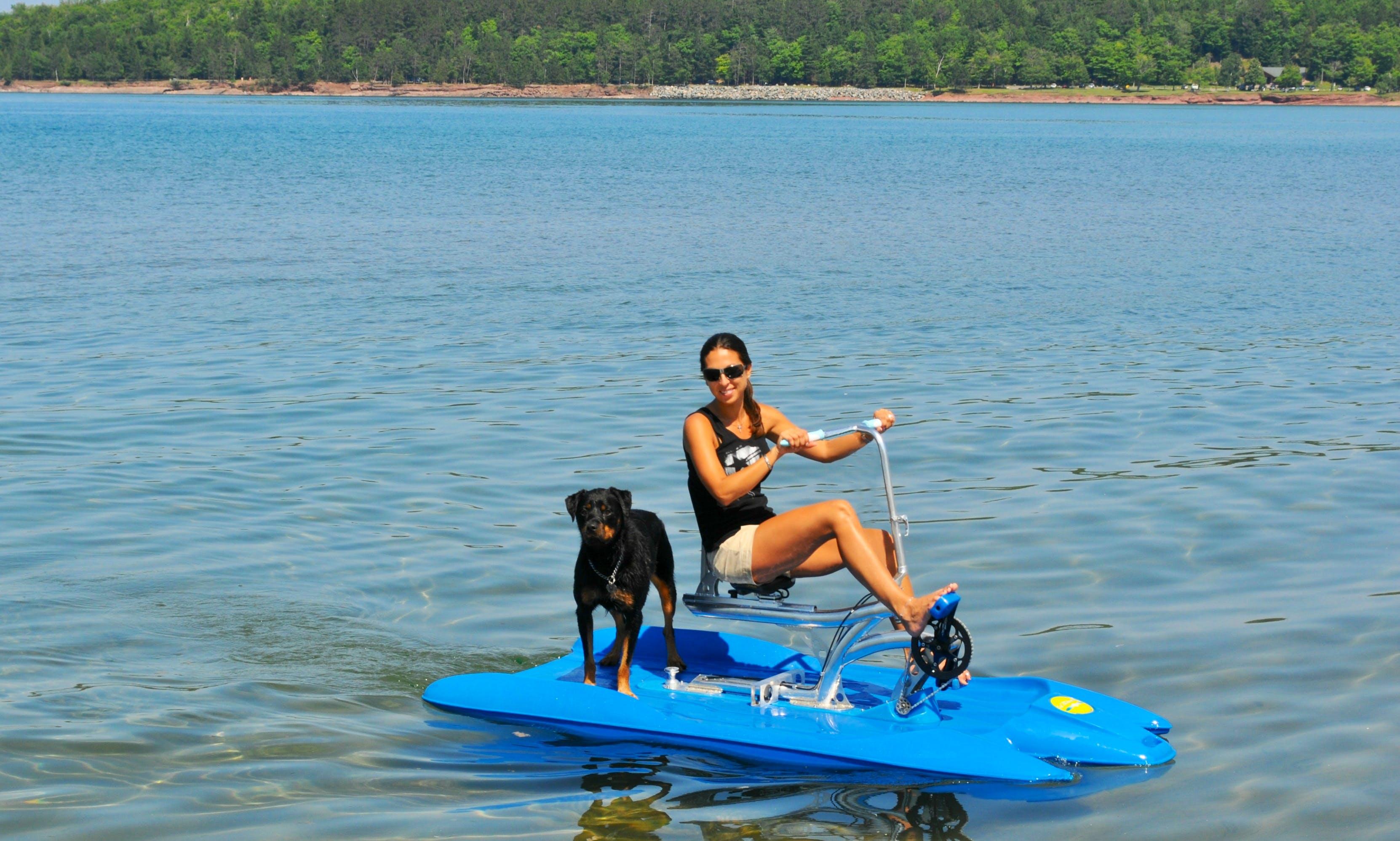 Single Seater Water Bike Rental, Cayman Islands