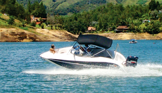 Rent A Bowrider In Guatape, Colombia  For 7 Person!