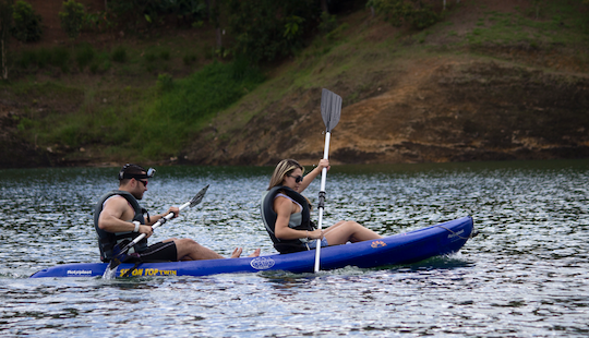 Reserve A Kayak In Guatape, Colombia With Your Friends!