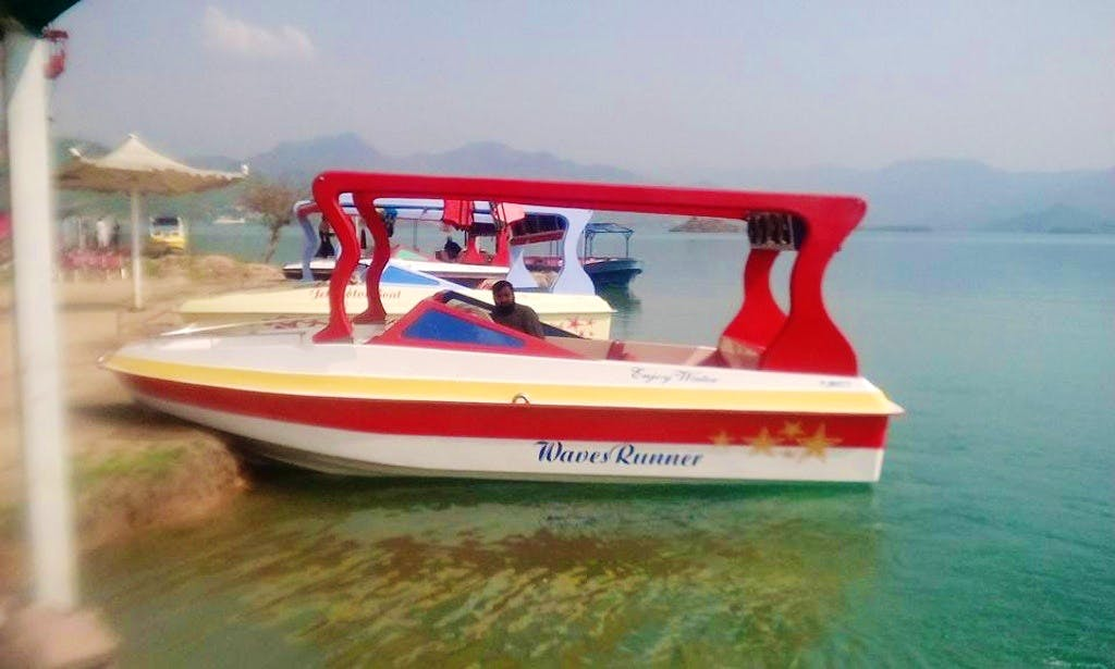 Rent a this boat with booming sound system in Khanpur, Pakistan