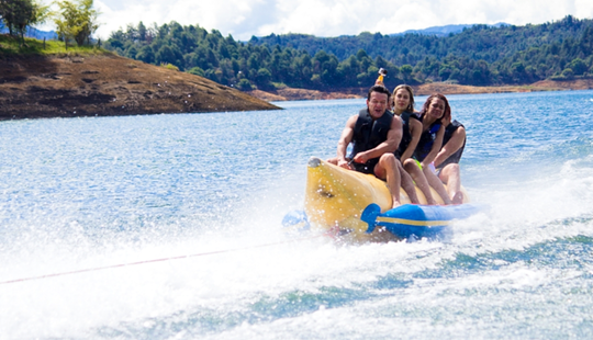 Banana Boat Rides In Guatape, Colombia For 4 Person