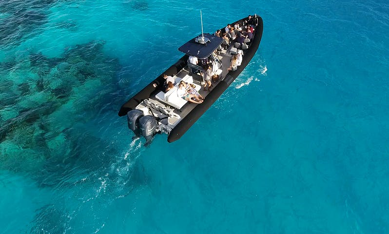 "42ft ""Zeus"" RIB Charter in Warwick, Bermuda for 27 person!"