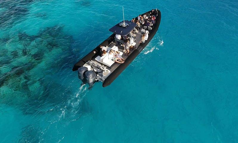 "42ft ""Zeus"" RIB Charter in Warwick, Bermuda for 27 person!"