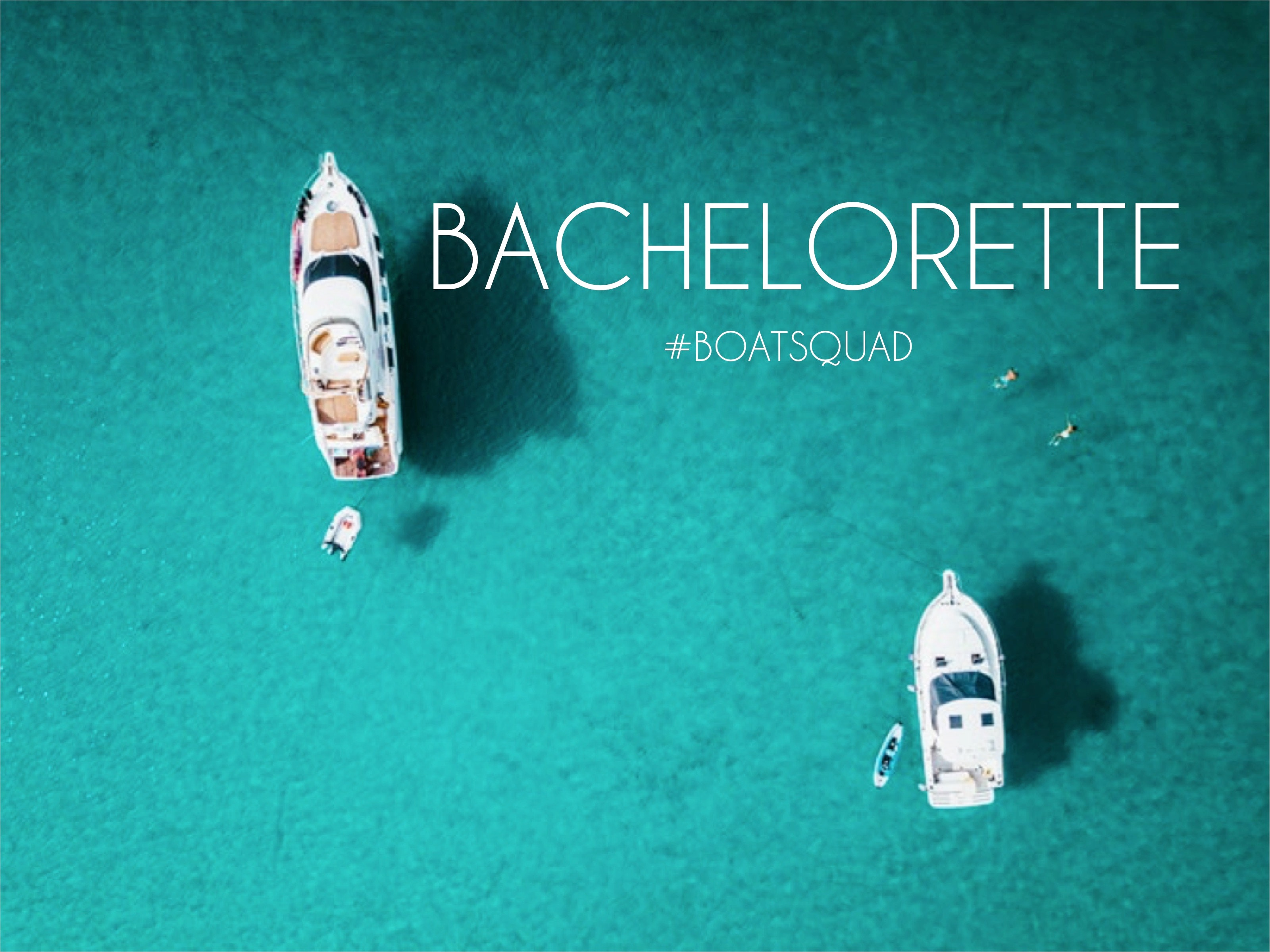 Bachelorette Party on a Boat