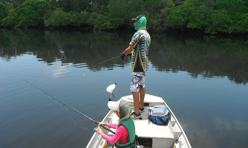 Amazing Guided Fishing Trip in Cabedelo, Brazil!