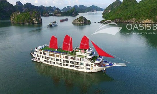 Oasis Party Cruising 2 Days In Halong Bay Vietnam