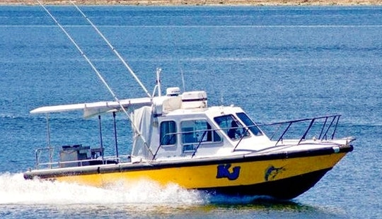 Enjoy Fishing In Urangan, Australia On 29' Kj Cuddy Cabin