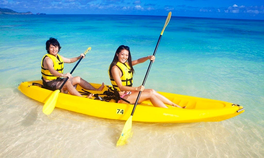 Double Kayak Rental in Kailua, Hawaii