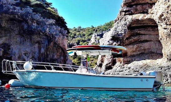 Crewed Power Boat Rental In Split