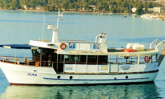 Enjoy Day Trips In Pula, Croatia On Trawler For 60 People