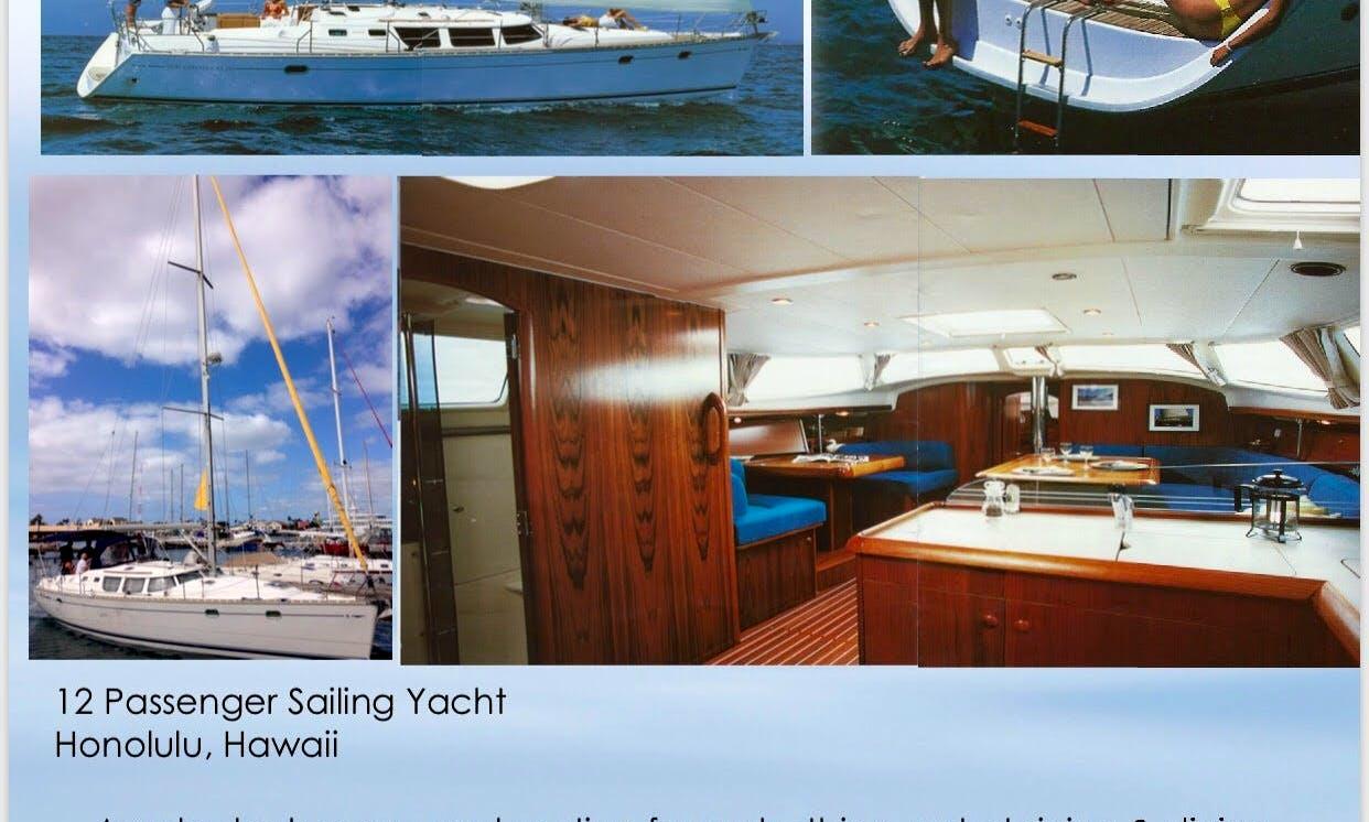 12 Passenger Sail Boat