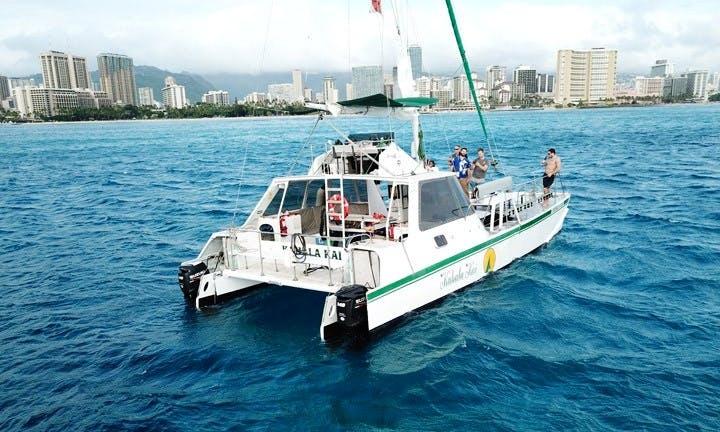42 Passenger Sailing Catamaran