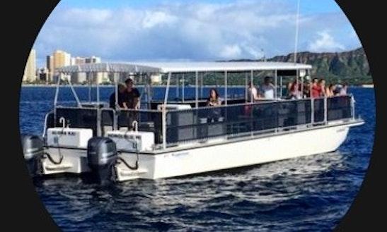 Charter A 42 Persons Cruising Catamaran In Honolulu, Hawaii