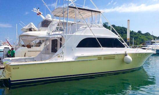 58' Motor Yacht Charter In Panama, Panama