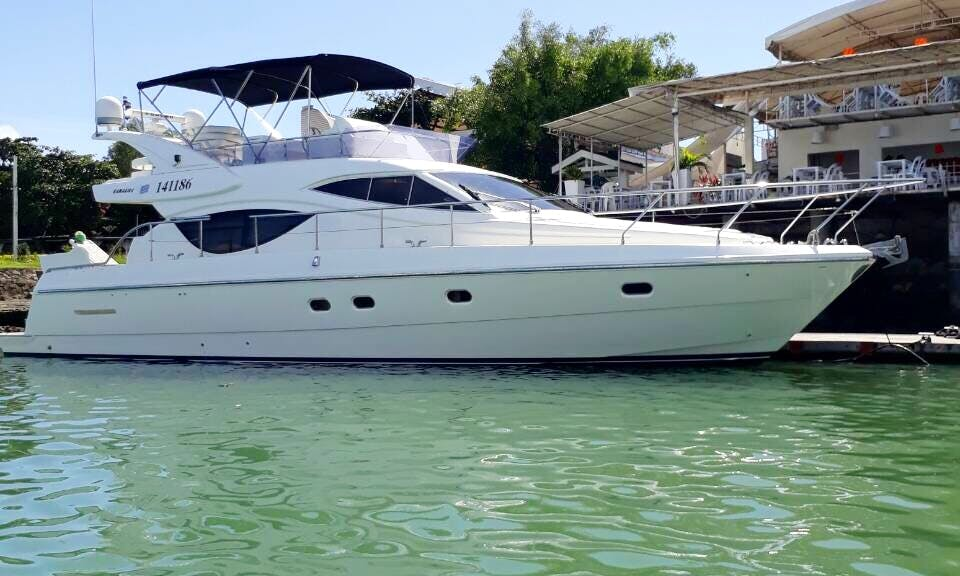 Captained Motor Yacht Charter for Up to 15 People in Subic, Philippines
