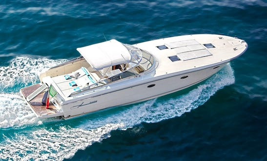 Amazing 12 Person Yacht Based In Positano Perfect For A Day On The Almafi Coast