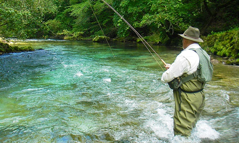 Guided Fly Fishing Trip in Slovenia's Julian Alps with Ron