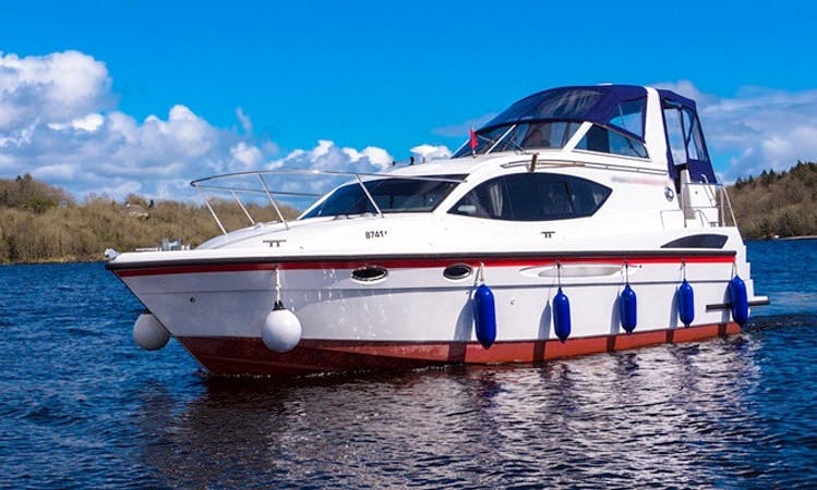 "Hire the Luxury Motor Yacht ""Inver Queen"" in Irvinestown"
