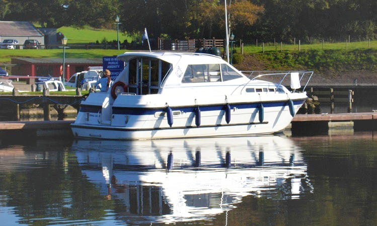 Noble Cadet 2/4 berth Cabin Cruiser, Lough Erne, Northern Ireland