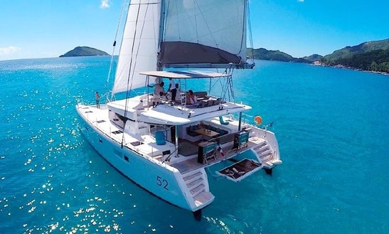 Have A Wonderful Time In Milazzo, Sicilia Aboard This Lagoon 52 Cruising Catamaran