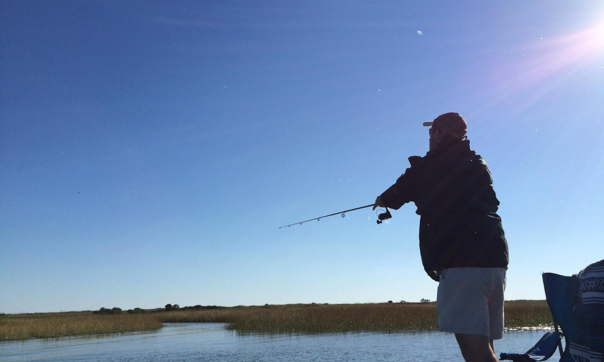 Guided Fishing Trips on 18′ Lowe Jon Boat for 2 People in Cape Charles, Virginia