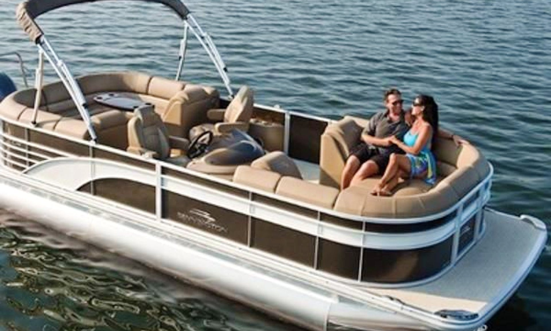 Explore Jensen Beach, FL on a 24' Pontoon Boat!