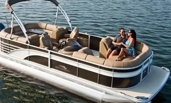 Explore Jensen Beach, Fl On A 24' Pontoon Boat!