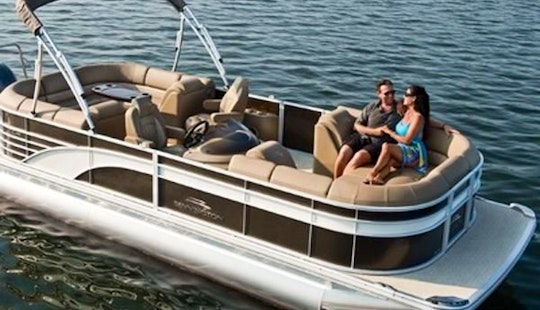 Rent A 24' Pontoon In Fort Pierce, Florida