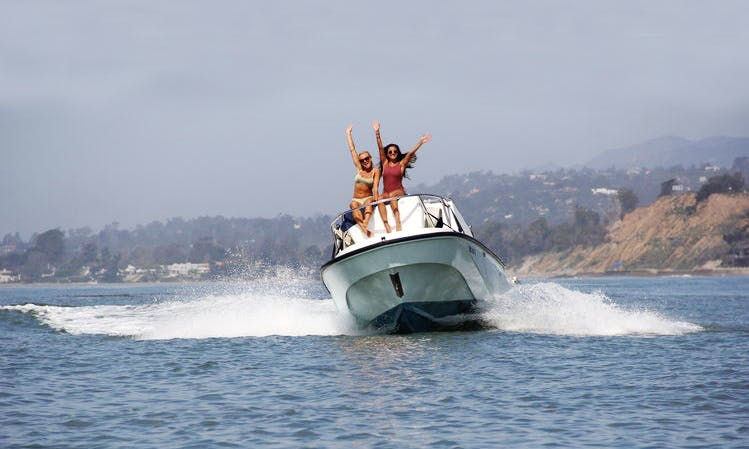 Private Boat Charter for 6 Person in Santa Barbara, California