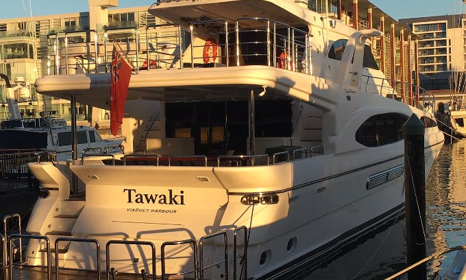 Charter a 81ft Dyna Laguna Super Yacht in Auckland, New Zealand